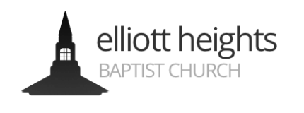 Elliott Heights Baptist Church